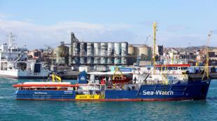 """Itália: O novo """"decreto de segurança"""" de Salvini atinge o """"Sea Watch""""."""