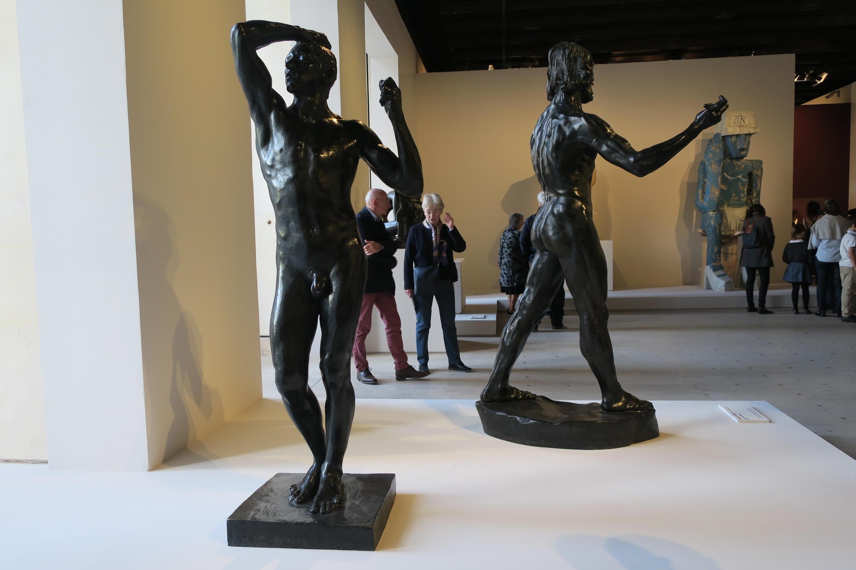 L'Âge d'airain (Thời đại đồng thau, 1877), Aguste Rodin, Triển lãm Rodin Grand Palais, Paris.