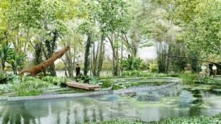 C'est Gilbert Fillinger qui a eu l'idée de créer un Festival international des jardins il y a 11 ans. Et c'est à voir jusqu'au 18 octobre 2020.