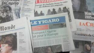 Primeiras páginas dos jornais franceses de 24 de fevereiro de 2016