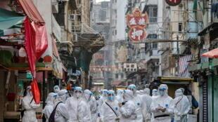 1月23日香港防疫资料图片