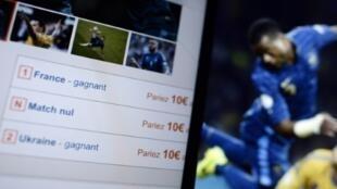Au premier trimestre 2016, les paris sportifs en ligne ont atteint le niveau record de 516 millions d'euros, soit 47% de hausse par rapport au premier trimestre 2015, également un record, selon l'Autorité de régulation des jeux en ligne