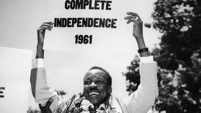 Mwalimu Julius Kambarage Nyerere, mwasisi wa Tanzania huru.