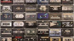 Cassettes à bande magnétique