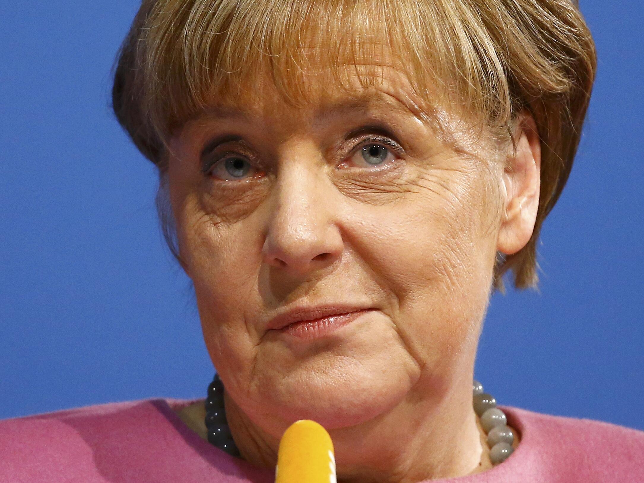 La chancelière allemande, Angela Merkel.