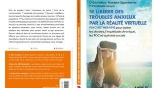 """Capa do livro """"Livre-se da ansiedade com a realidade virtual"""", do psiquiatra francês Eric Malbos"""