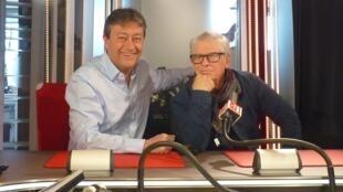 Ricardo Mosner y Jordi Batallé en RFI