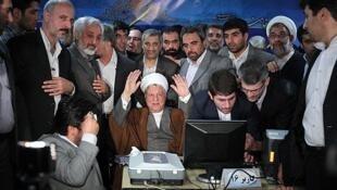 ستاد انتخاباتی هاشمی رفسنجانی