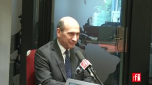 Dominique Trinquand sur RFI le 20 juillet 2017.