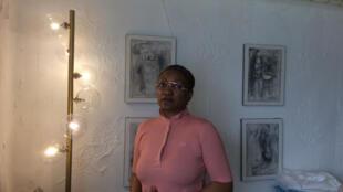Docteure Pascale Abéna, médecin spécialiste des maladies infectieuses à Douala. Porte-parole d'un collectif de 13 médecins africains, européens et américain.