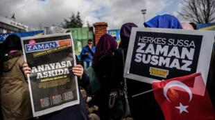 """طبق گزارش """"سازمان گزارشگران بدون مرز""""، تعداد روزنامهنگاران زندانی در ترکیه از فردای """"کودتای نافرجام"""" در ١۵ ژوئیه ٢٠۱۶ تا کنون، ٤ برابر افزایش داشته است."""