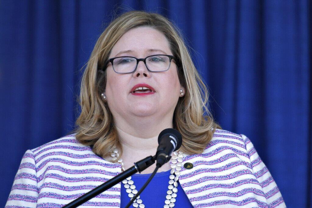 La directora de los servicios generales de la administración estadounidense, Emily Murphy, se rehusa a firmar el protocolo que desbloquea los fondos federales para la transición. Foto en Washington, del 21 de junio de 2019.