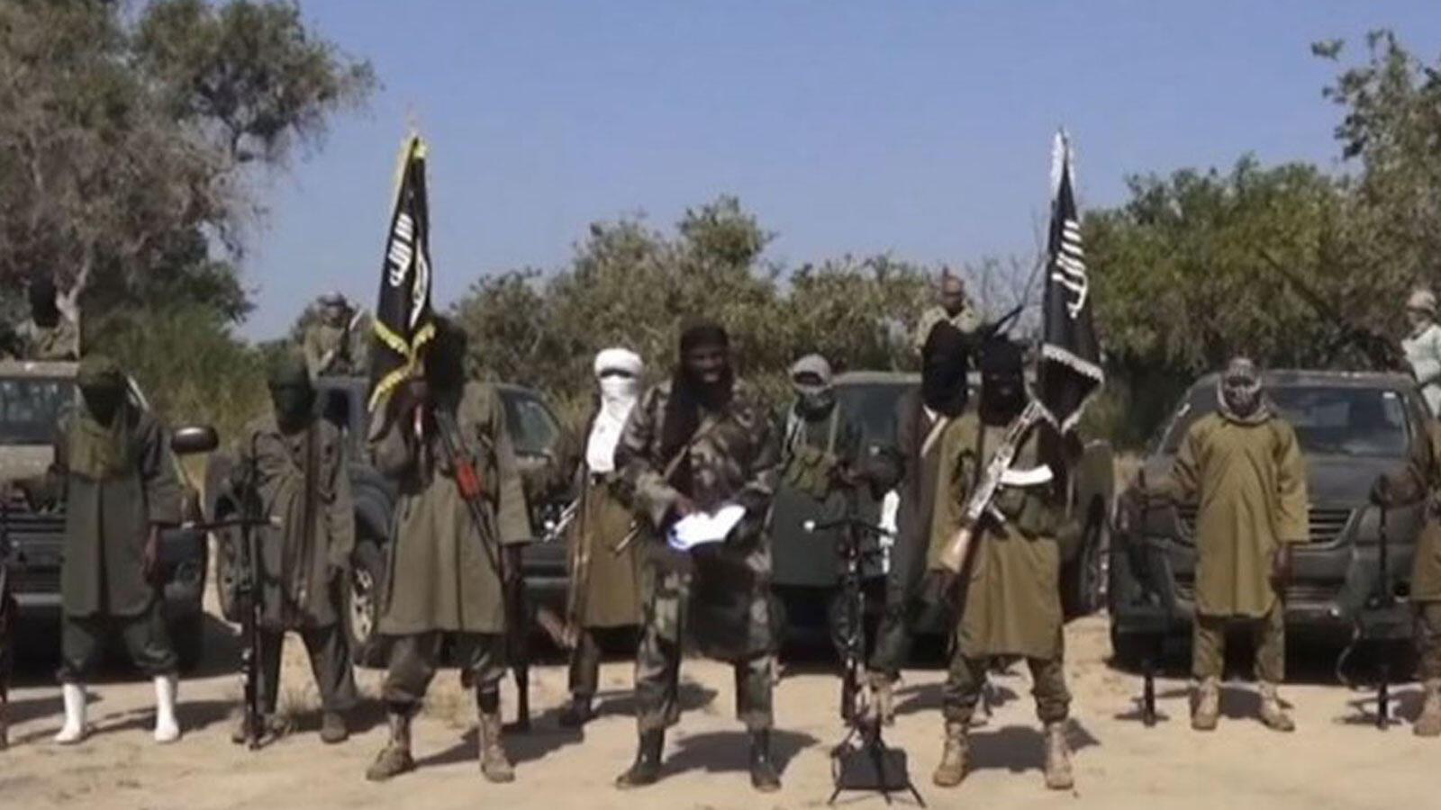 Wasu mayakan kungiyar Boko Haram.