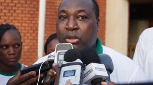Zéphirin Diabré, président de l'UPC, l'Union pour le progrès et le changement au Burkina Faso.