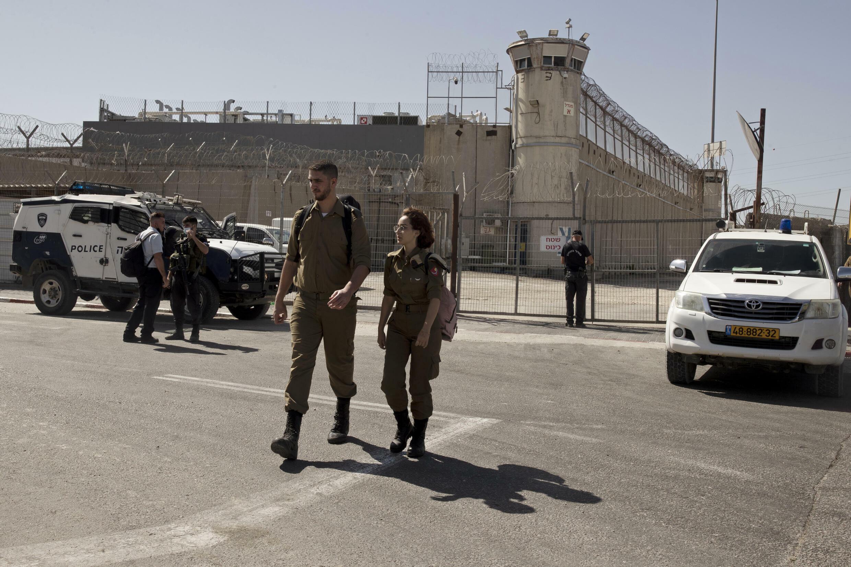 israel fugitifs évadés prison palestiniens