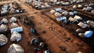 Le camp des réfugiés somaliens de Dadaab au kenya.
