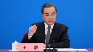 Wang Yi, Ministan harkokin wajen kasar China.  24/5/2020