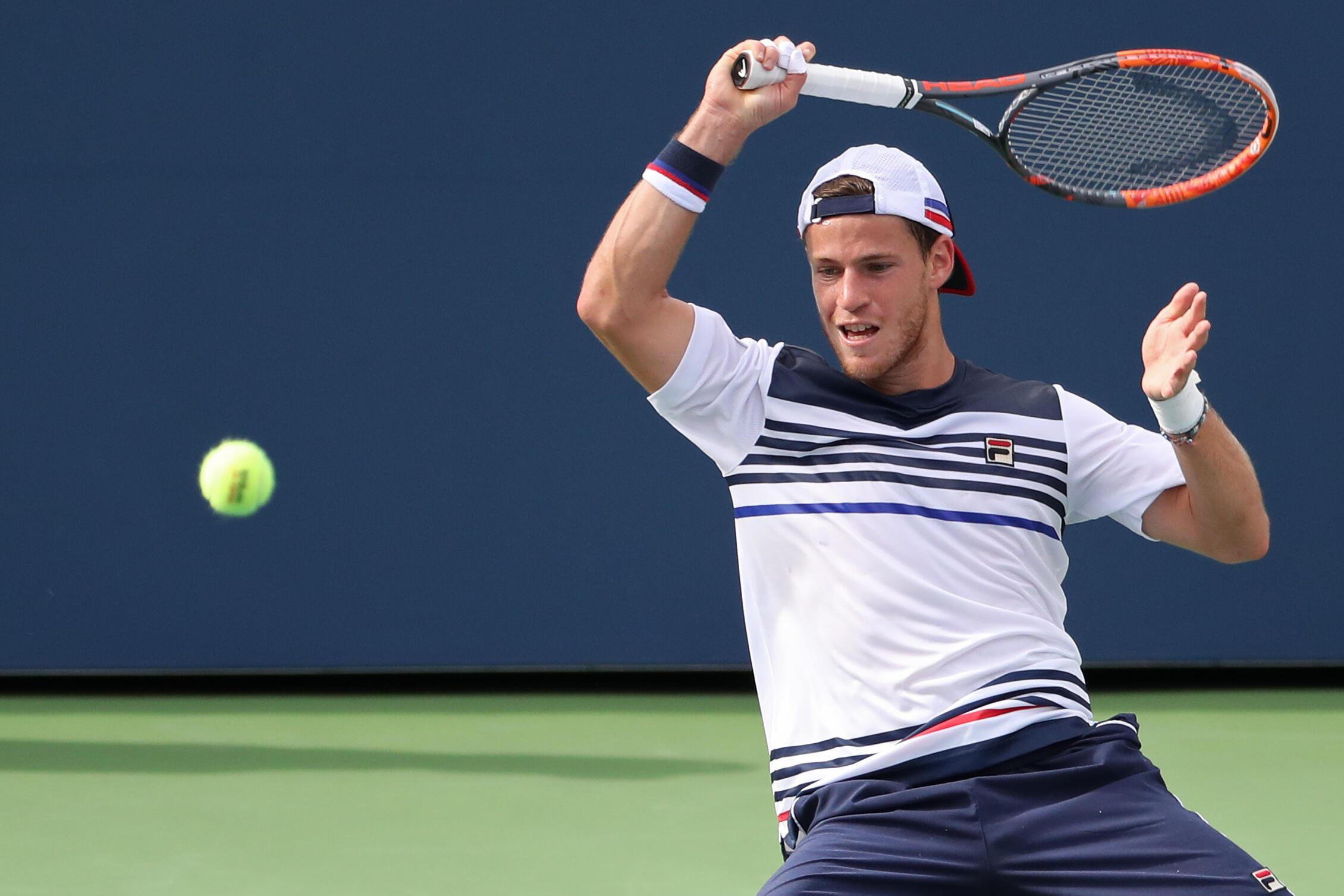 Diego Schwartzman es una de las jóvenes promesas del tenis argentino que podría llegar a la final del U.S. Open 2017.