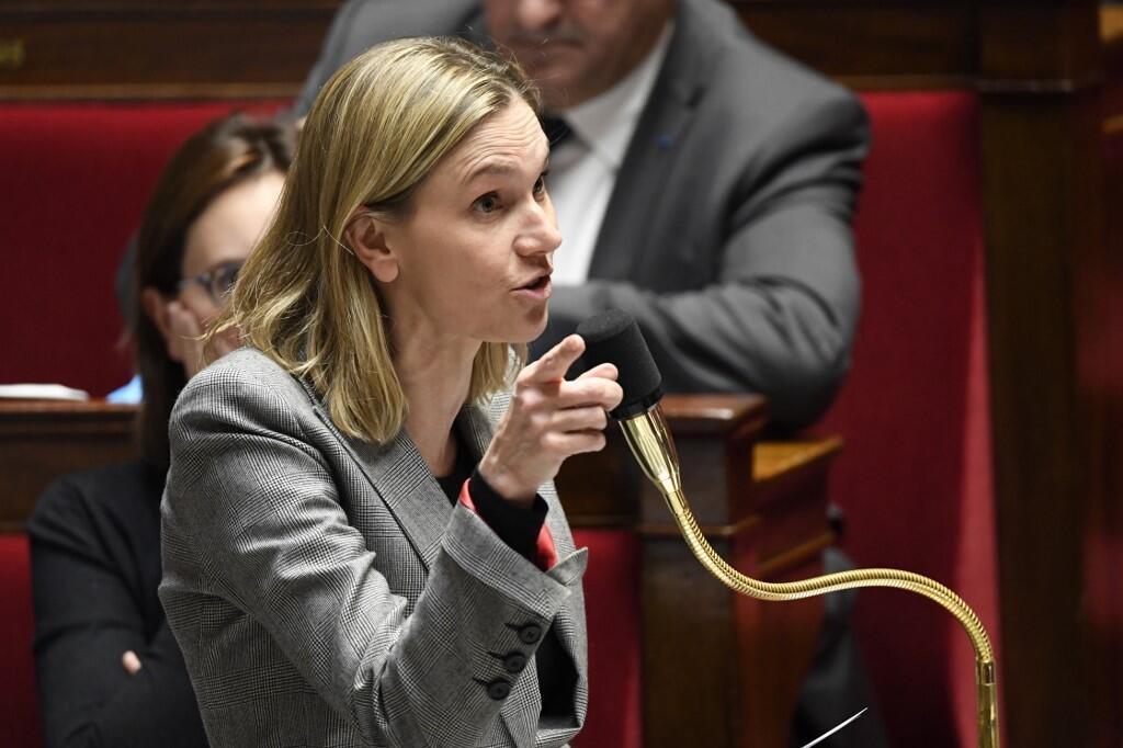 Agnes Pannier-Runacher, lors d'une séance de questions au gouvernement à l'Assemblée nationale française, le 12 novembre 2019.