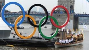 伦敦奥运标志