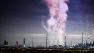 Emission de gaz polluant.