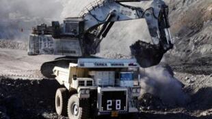 Une mine de charbon dans le désert du Gobi, au sud de la Mongolie (image d'illustration).