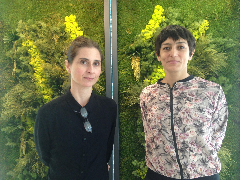 As coreógrafas Marcela Levi e Lucía Russo de passagem pelos estúdios da RFI em Paris