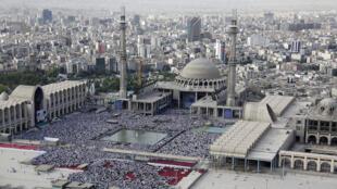 Téhéran le 18 juillet 2015, jour de l'Aïd el-Fitr.