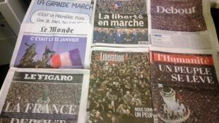 Diários franceses 12/01/2015