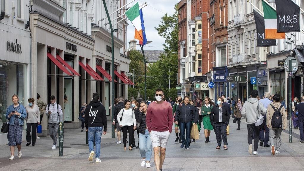 Covid en Irlande: réouverture des commerces non-essentiels