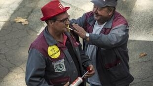 Alstom workers welcome the news on 4 October