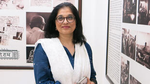 Sukanya Bharatram, arrière-petite-fille de Gandhi.