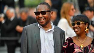Amadou et Mariam lors de la 70e édition du festival de Cannes en mai 2017.