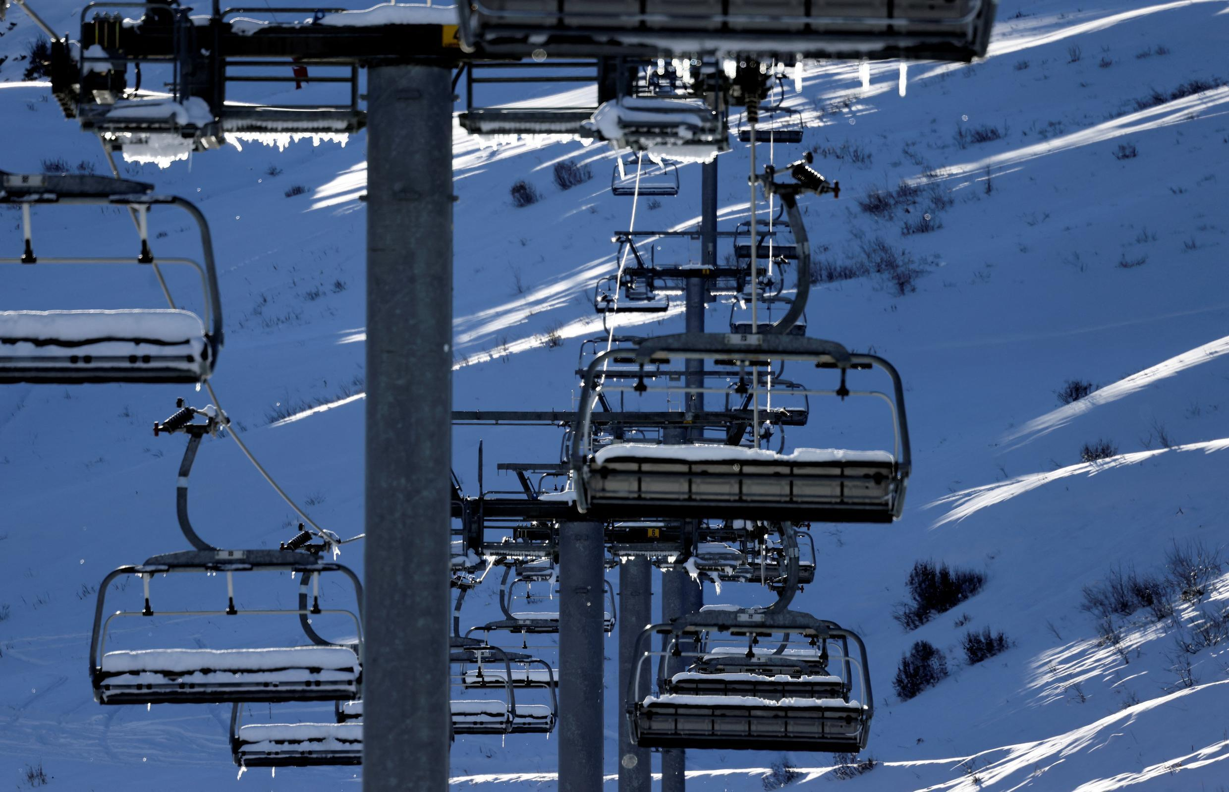 Ski resorts in France still don't know when they will be allowed to reopen chair lifts