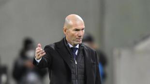 PHOTO - Zidane 27 octobre 2020