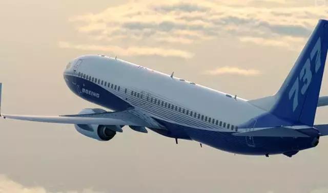 圖為美國波音737NG飛機飛行照片