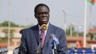 La période de transition, présidée par Michel Kafando (ici le 1er novembre), doit prendre fin avec les élections du 29 novembre 2015.