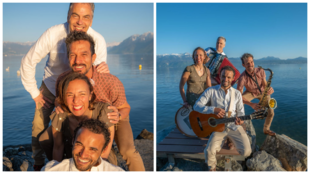 Criado há seis anos, o grupo Xocolate se apresenta em Lausanne e região. Foto - Divulgação