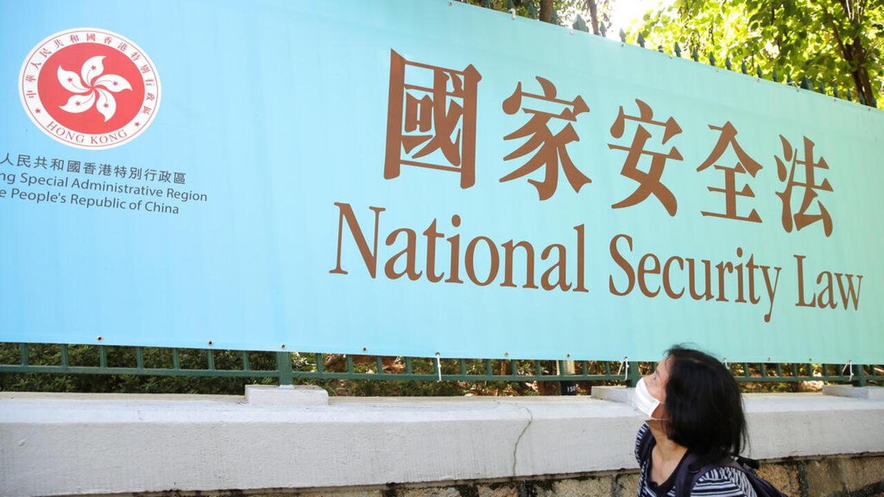 香港國安法162個人大常委15分鐘內一致通過7.1實施