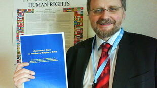 Ông Heiner Bielefeldt, báo cáo viên đặc biệt của Liên Hiệp Quốc về tự do tôn giáo (ohchr.org)