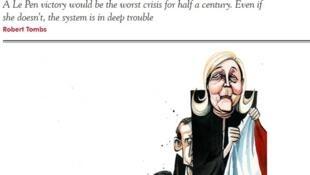 Couverture du Spectator, magazine conservateur britannique du 11 février 2017.