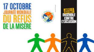 Le 17 octobre, c'est la Journée mondiale du refus de la misère.