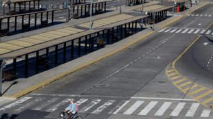 Buenos Aires, la capitale argentine, a des allures de ville morte alors qu'une grève générale a été lancée dans tout le pays, mardi 25 septembre.