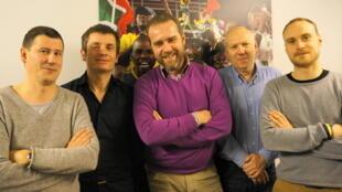 Les envoyés spéciaux de RFI à la CAN 2013.