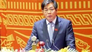 Ông Bùi Quang Vinh, bộ trưởng Bộ Đầu tư.