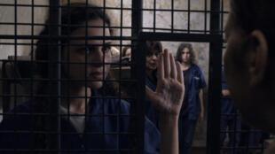 Une scène du film «3000 Nuits » de la cinéaste palestinienne Maï Masri.