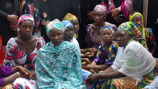 Some of the girls kidnapped by Boko Haram have managed to escape, seen here in May 2015.