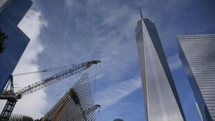 Le bâtiment du World Trade Center à New York, le 9 septembre 2014.