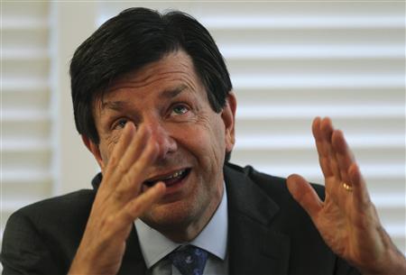 O banqueiro Roberto Egydio Setubal vice-presidente do Itaú Unibanco.