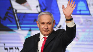 PHOTO Benyamin Netanyahu 24 mars 2021